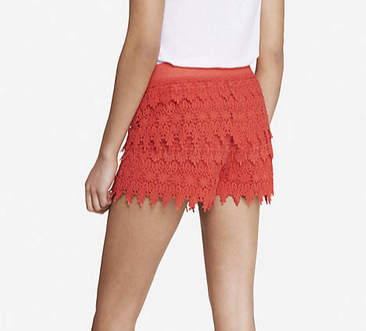 backred shorts